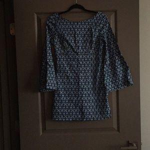 Zara printed 70s dress